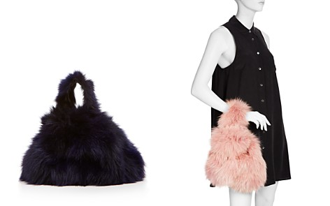 Arron Fox Fur Mini Bag - Bloomingdale's_2